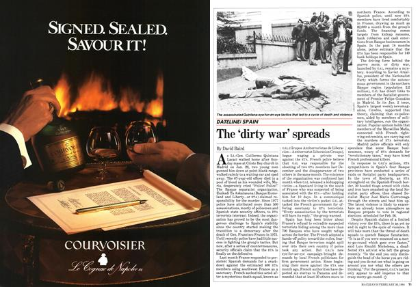 Article Preview: The 'dirty war' spreads, February 1984 | Maclean's