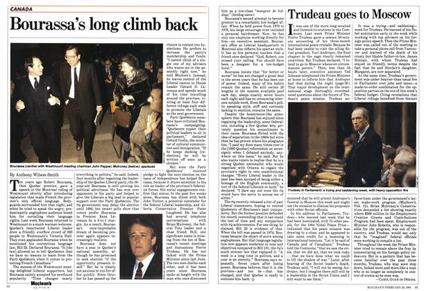 Article Preview: Trudeau goes to Moscow, February 1984 | Maclean's