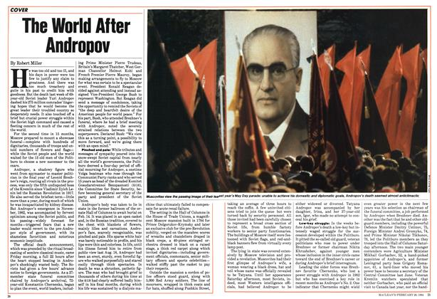 Article Preview: The World After Andropov, February 1984 | Maclean's