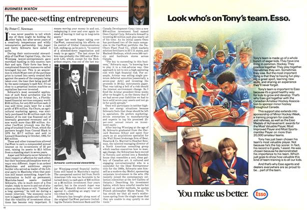 Article Preview: The pace-setting entrepreneurs, February 1984 | Maclean's