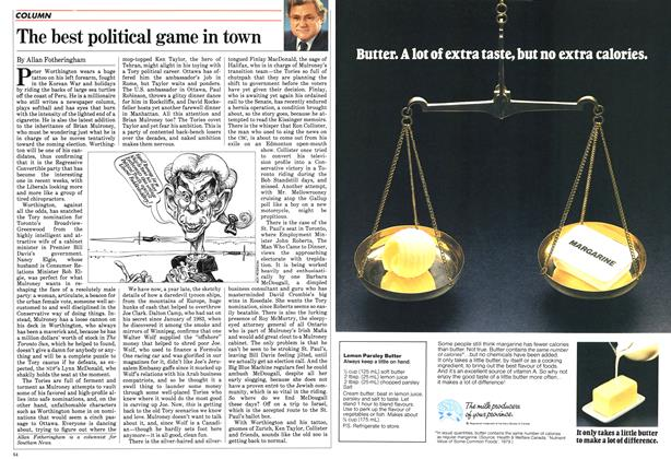 Article Preview: The best political game in town, February 1984 | Maclean's