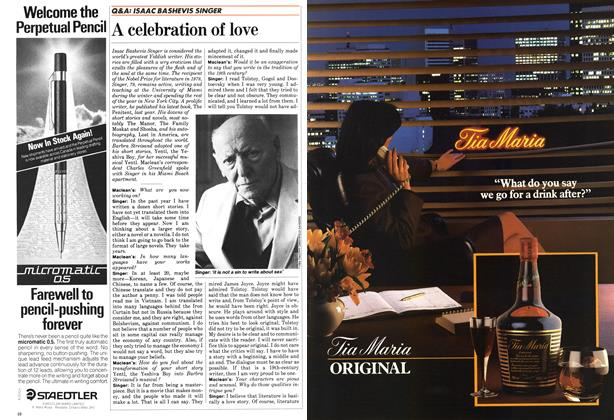 Article Preview: A celebration of love, February 1984 | Maclean's