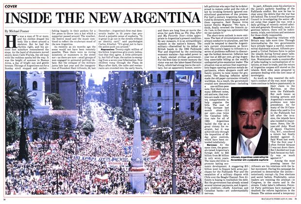 Article Preview: INSIDE THE NEW ARGENTINA, February 1984 | Maclean's