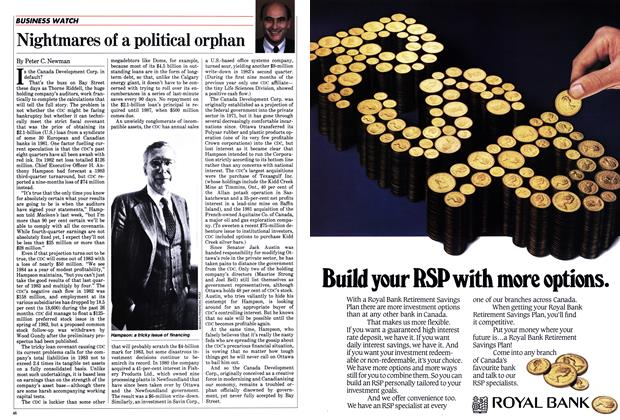 Article Preview: Nightmares of a political orphan, February 1984 | Maclean's
