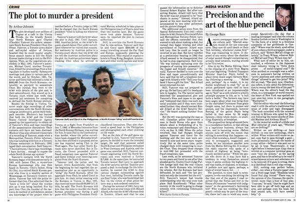 Article Preview: The plot to murder a president, February 1984 | Maclean's