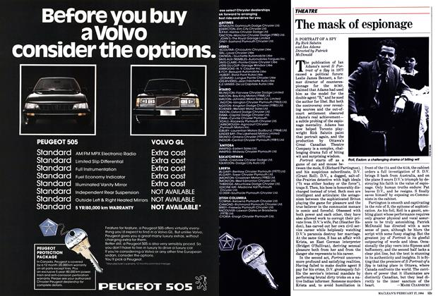 Article Preview: The mask of espionage, February 1984   Maclean's