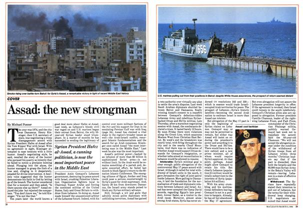 Article Preview: Assad: the new strongman, March 1984 | Maclean's