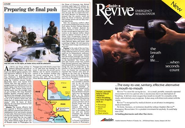Article Preview: Preparing the final push, March 1984   Maclean's