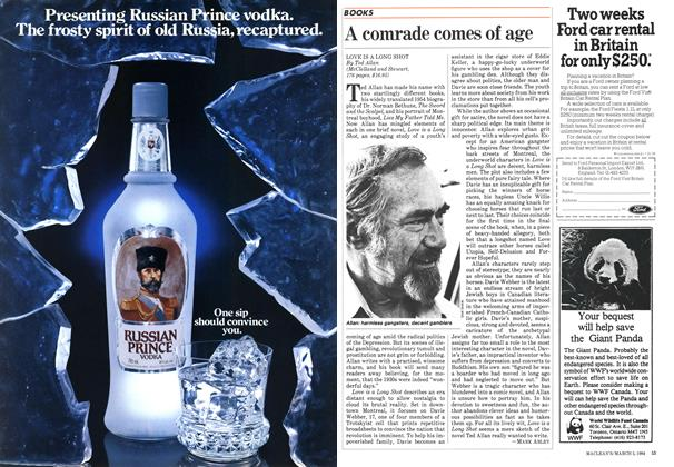 Article Preview: A comrade comes of age, March 1984   Maclean's