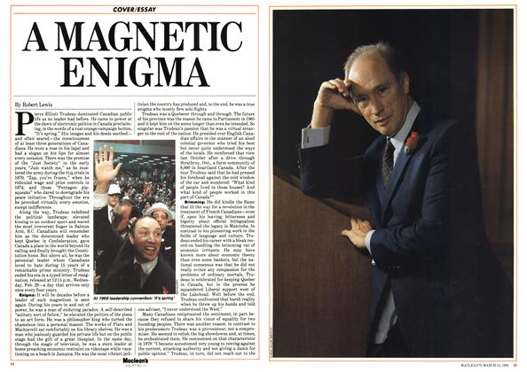 Article Preview: A MAGNETIC ENIGMA, March 1984 | Maclean's