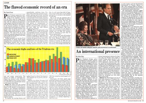 Article Preview: An international presence, March 1984 | Maclean's
