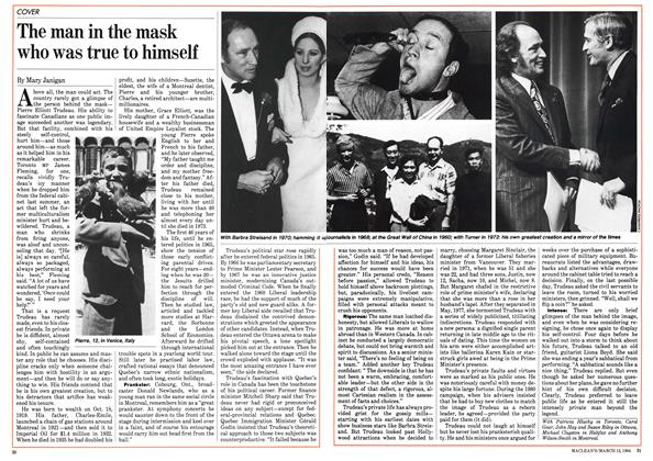 Article Preview: The man in the mask who was true to himself, March 1984 | Maclean's