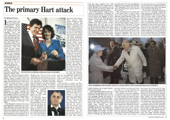 Article Preview: The primary Hart attack, March 1984 | Maclean's