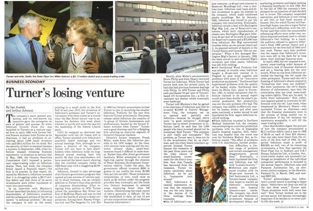 Article Preview: Turner's losing venture, March 1984 | Maclean's