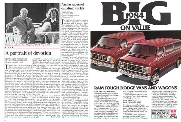 Article Preview: A portrait of devotion, March 1984 | Maclean's