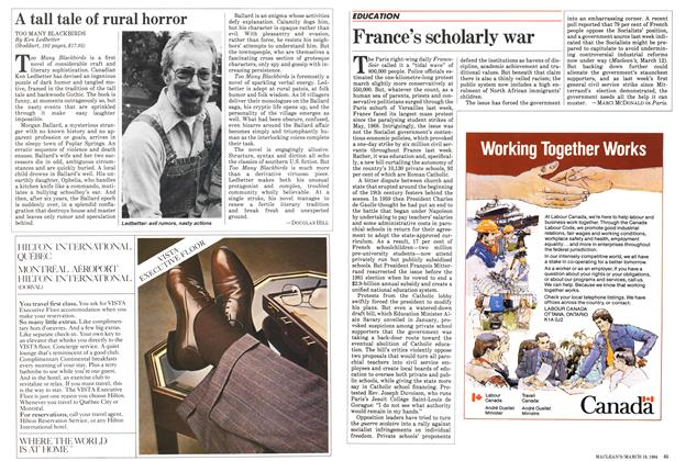 Article Preview: France's scholarly war, March 1984 | Maclean's
