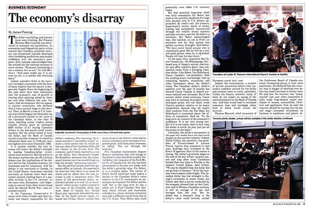 Article Preview: The economy's disarray, March 1984 | Maclean's