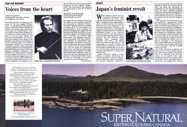Article Preview: Japan's feminist revolt, March 1984 | Maclean's