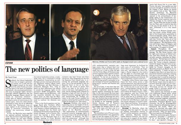 Article Preview: The new politics of language, April 1984 | Maclean's