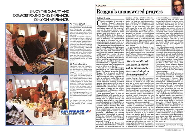 Article Preview: Reagan's unanswered prayers, April 1984 | Maclean's