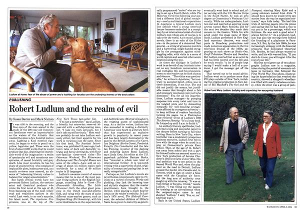Article Preview: Robert Ludlum and the realm of evil, April 1984 | Maclean's
