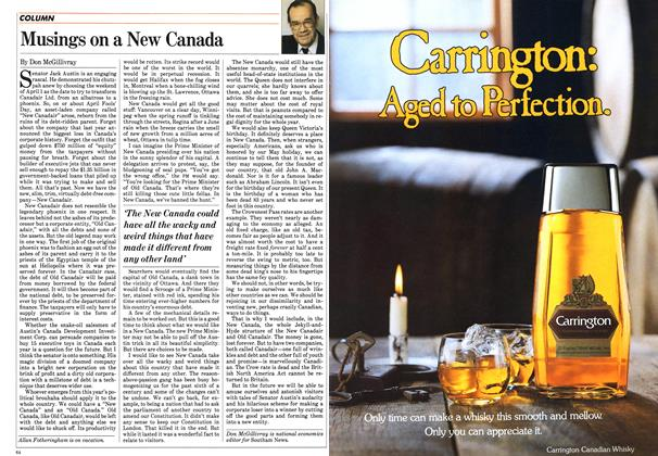 Article Preview: Musings on a New Canada, April 1984 | Maclean's