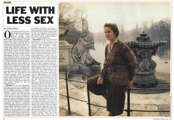 Article Preview: LIFE WITH LESS SEX, April 1984 | Maclean's
