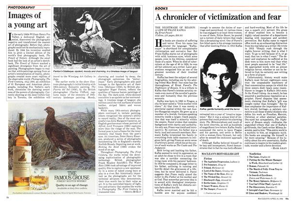 Article Preview: A chronicler of victimization and fear, April 1984 | Maclean's