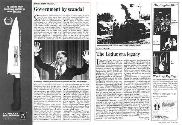 Article Preview: The Leduc era legacy, April 1984 | Maclean's