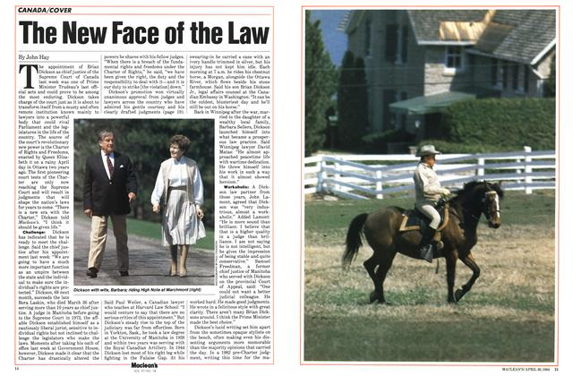 Article Preview: The New Face of the Law, April 1984 | Maclean's
