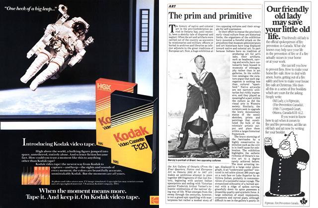 Article Preview: The prim and primitive, April 1984 | Maclean's