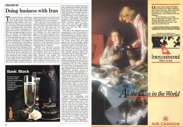 Article Preview: Doing business with Iran, May 1984 | Maclean's
