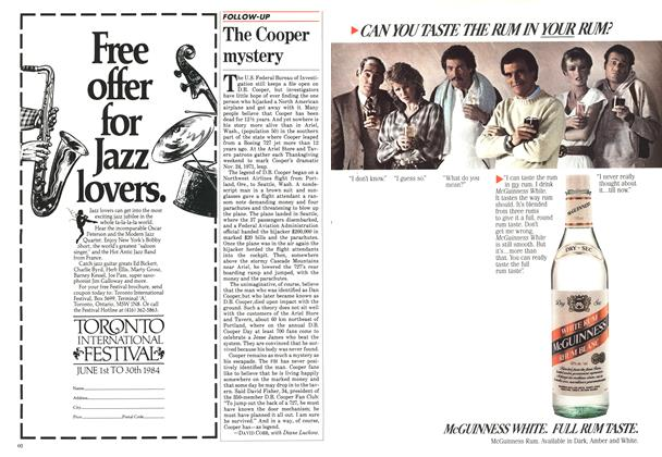 Article Preview: The Cooper mystery, May 1984 | Maclean's