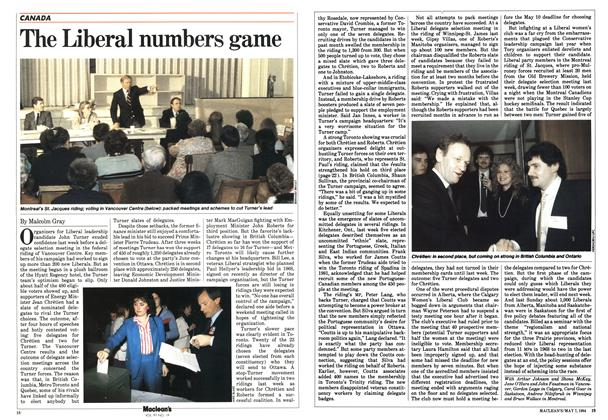 Article Preview: The Liberal numbers game, May 1984 | Maclean's