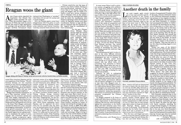 Article Preview: Reagan woos the giant, May 1984 | Maclean's