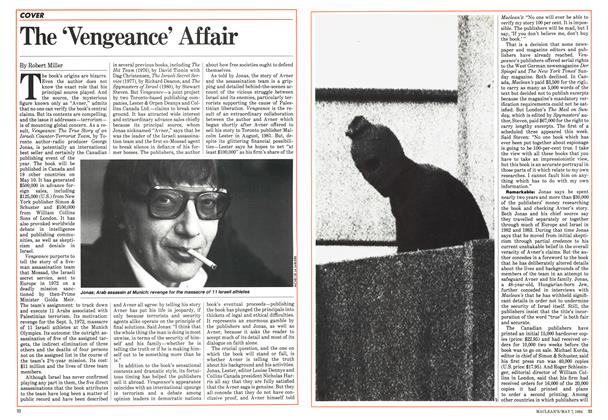 Article Preview: The 'Vengeance' Affair, May 1984 | Maclean's