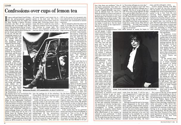 Article Preview: Confessions over cups of lemon tea, May 1984 | Maclean's