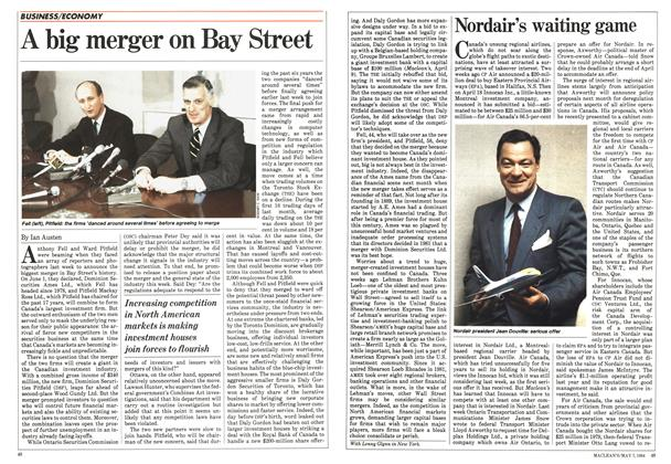 Article Preview: Nordair's waiting game, May 1984 | Maclean's