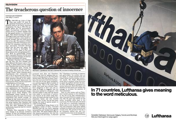 Article Preview: The treacherous question of innocence, May 1984 | Maclean's