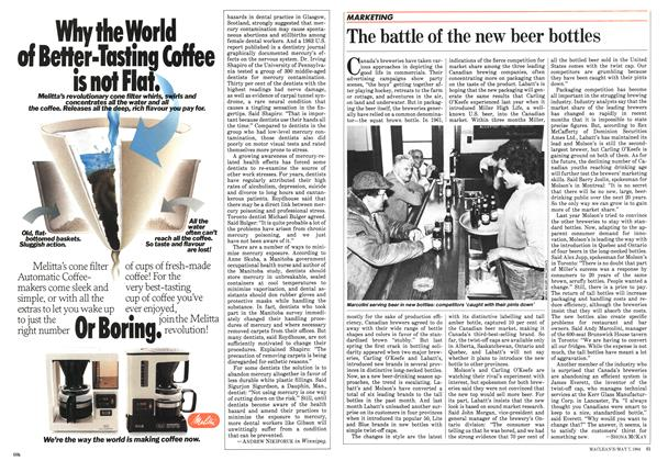 Article Preview: The battle of the new beer bottles, May 1984 | Maclean's