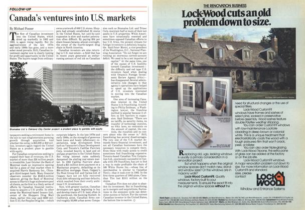 Article Preview: Canada's ventures into U.S. markets, May 1984 | Maclean's