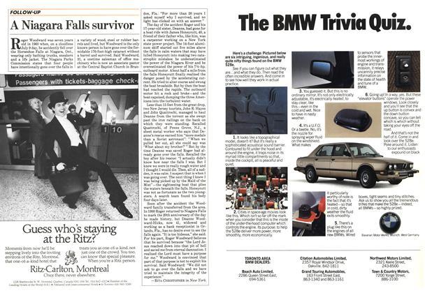 Article Preview: A Niagara Falls survivor, May 1984 | Maclean's