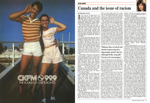 Article Preview: Canada and the issue of racism, May 1984 | Maclean's