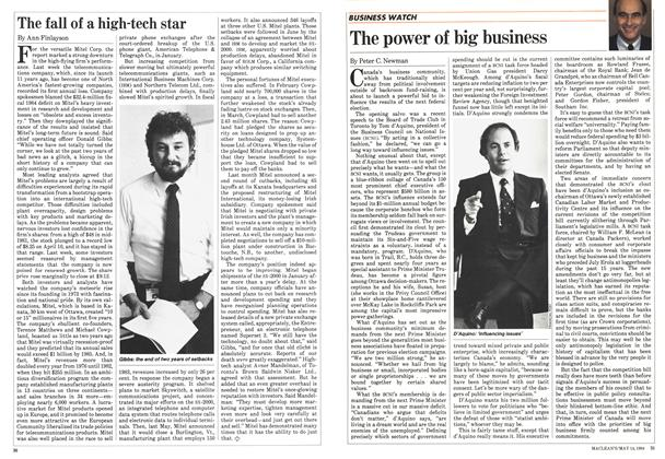 Article Preview: The power of big business, May 1984 | Maclean's