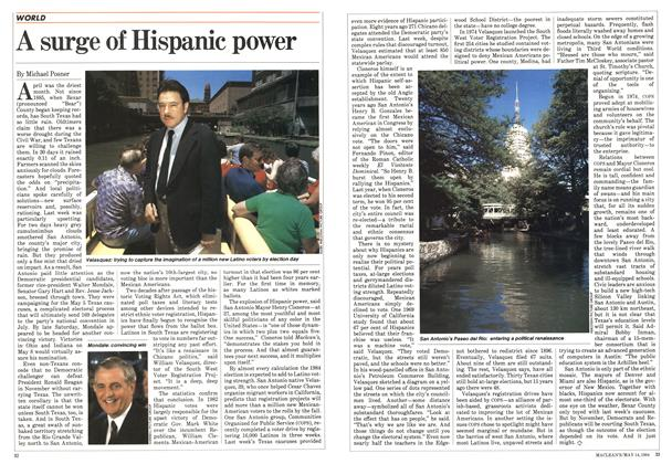 Article Preview: A surge of Hispanic power, May 1984 | Maclean's