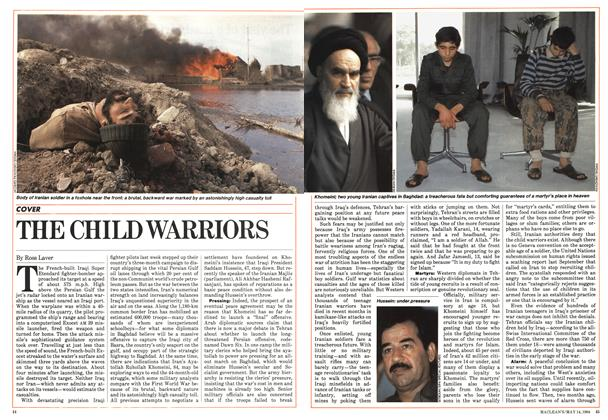 Article Preview: THE CHILD WARRIORS, May 1984 | Maclean's