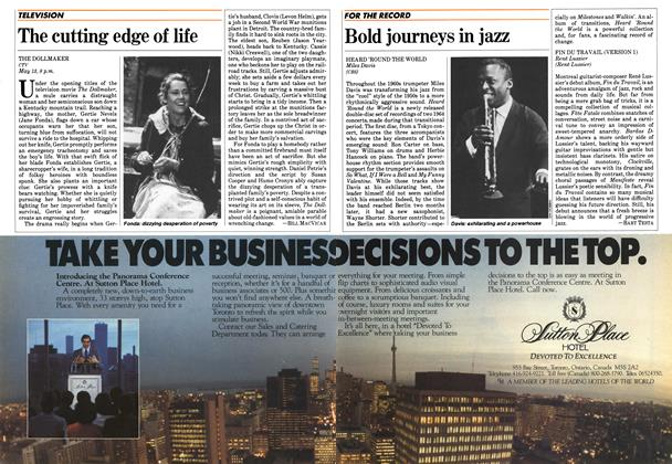 Article Preview: Bold journeys in jazz, May 1984 | Maclean's
