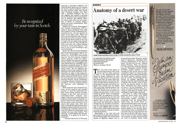 Article Preview: Anatomy of a desert war, May 1984 | Maclean's