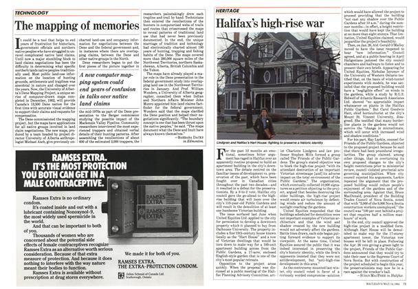 Article Preview: Halifax's high-rise war, May 1984 | Maclean's
