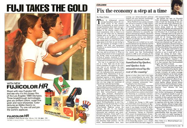 Article Preview: Fix the economy a step at a time, May 1984 | Maclean's